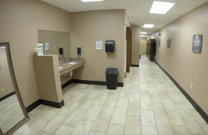 Westerville Restroom and Lockers